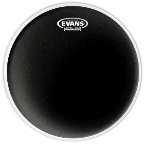 "Evans 12"" Black Chrome Black"