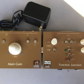 "Kush Audio ""Gain Train"" Main Gain Monitor Controller with Function Junction Expansion"