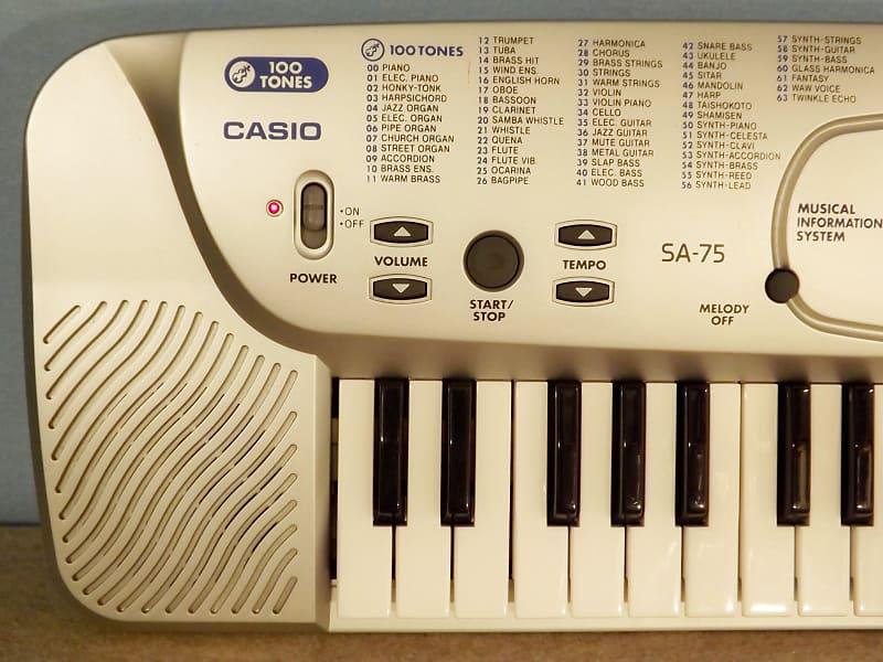 Casio SA-75 | Techno Emporium Instruments and Parts | Reverb