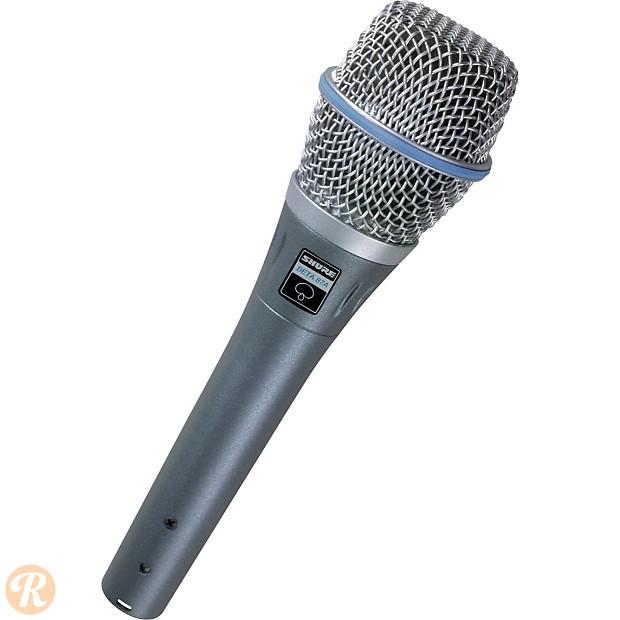 Shure Beta Handheld Supercardioid Condenser Microphone Reverb