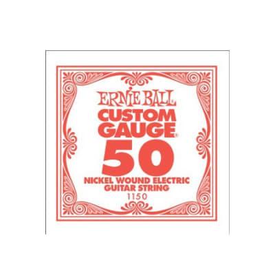 Ernie Ball Nickel Wound Single String 050