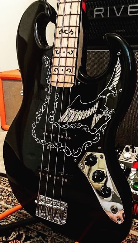 Ibanez 2609b Black Eagle Bass Reissue 2015 Lobstar Music Reverb