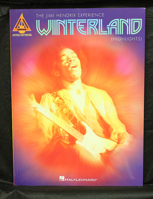 Jimi Hendrix – Winterland (Highlights) TAB Songbook