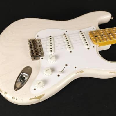 Fender Custom Shop 1954 Heavy Relic Stratocaster - White Blonde  531 for sale