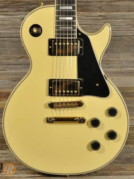 gibson les paul custom 1982 alpine white price guide reverb. Black Bedroom Furniture Sets. Home Design Ideas