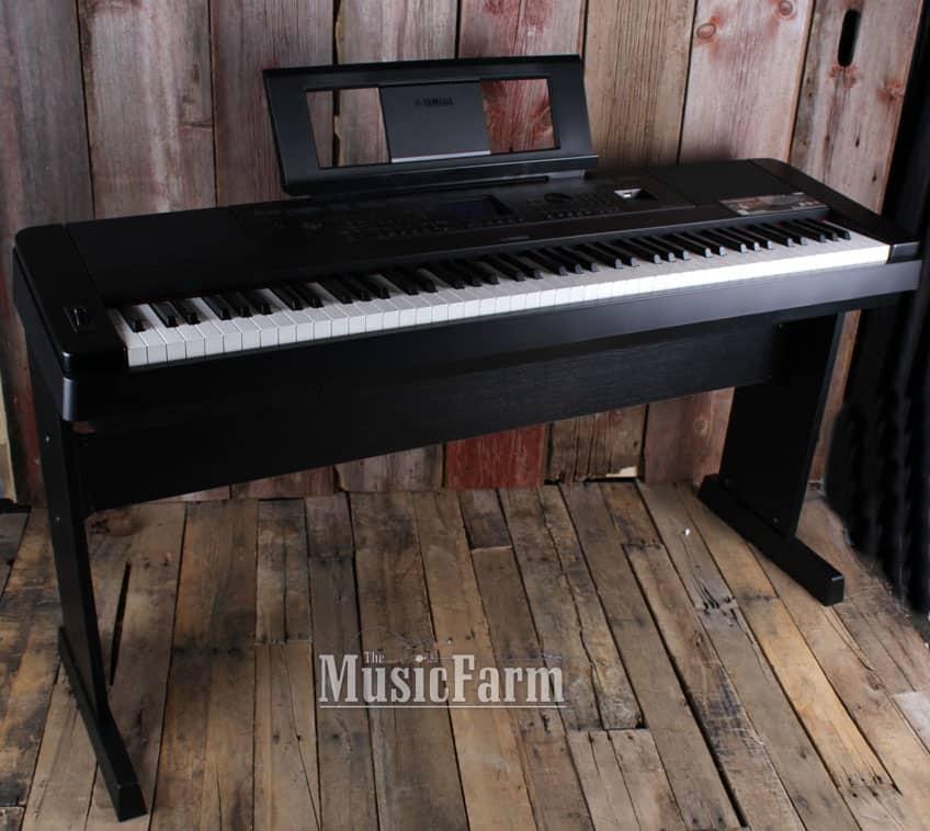 yamaha dgx660 88 weighted key portable grand digital piano reverb. Black Bedroom Furniture Sets. Home Design Ideas
