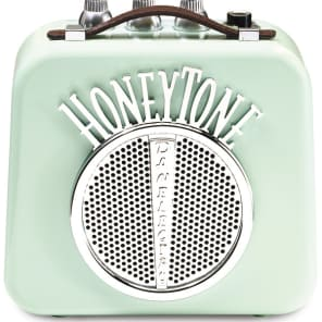 Danelectro N10 Honey-Tone Mini/Portable/Travel Guitar Amplifier/Amp - Aqua for sale