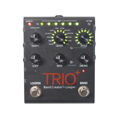 DIGITECH Trio+ Band Creator Guitar Pedal with Looper Open Box Mint