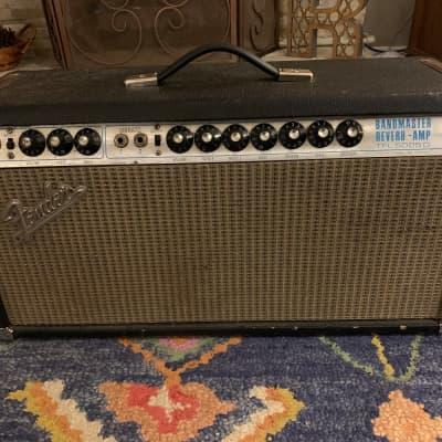 1969 Fender Bandmaster Reverb Silverface 1970s