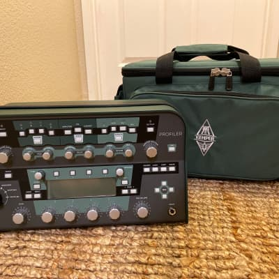 Pre-Loaded Kemper Amps Kemper Profiler Power Head - 600-watt Profiling Head 2017 Midnight Green and for sale