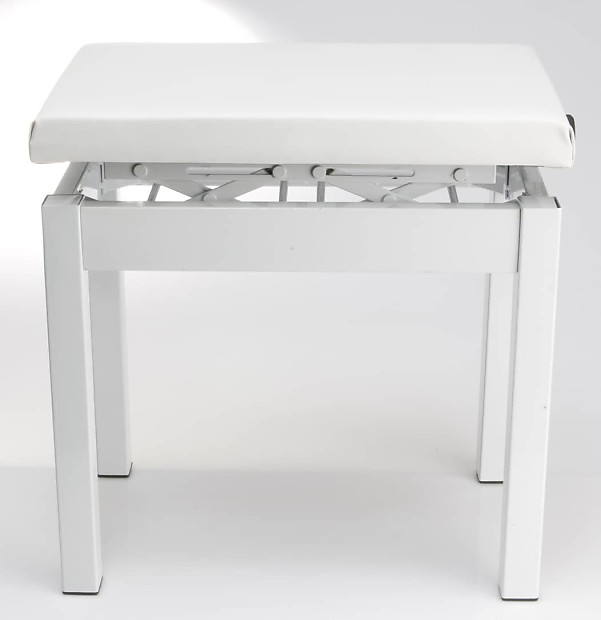 Casio PBWE Adjustable Piano Stool   White