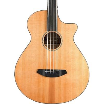 Breedlove Solo Jumbo CE Cedar and Ovangkol Fretless Acoustic-Electric Bass