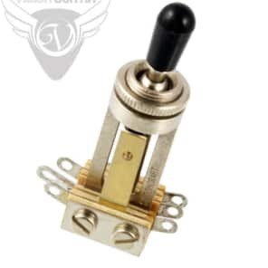 Switchcraft Straight Type 3-Way Toggle Switch for Gibson USA 3-Pickup Guitars