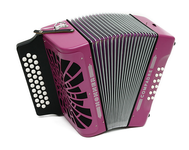 hohner compadre ead violet accordion acordeon gigbag reverb. Black Bedroom Furniture Sets. Home Design Ideas