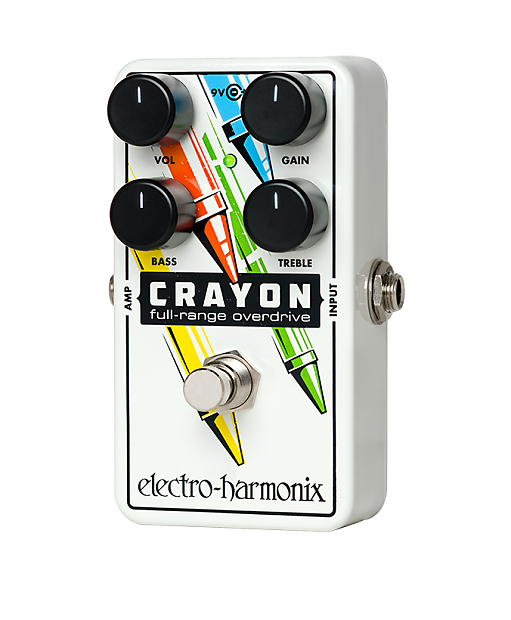 Crayons Mail: Electro-Harmonix Crayon Free Priority Mail Shipping!