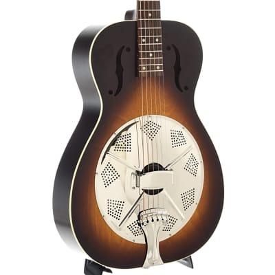 Beard Deco-Phonic Model 47 Roundneck Resonator Guitar & Case for sale