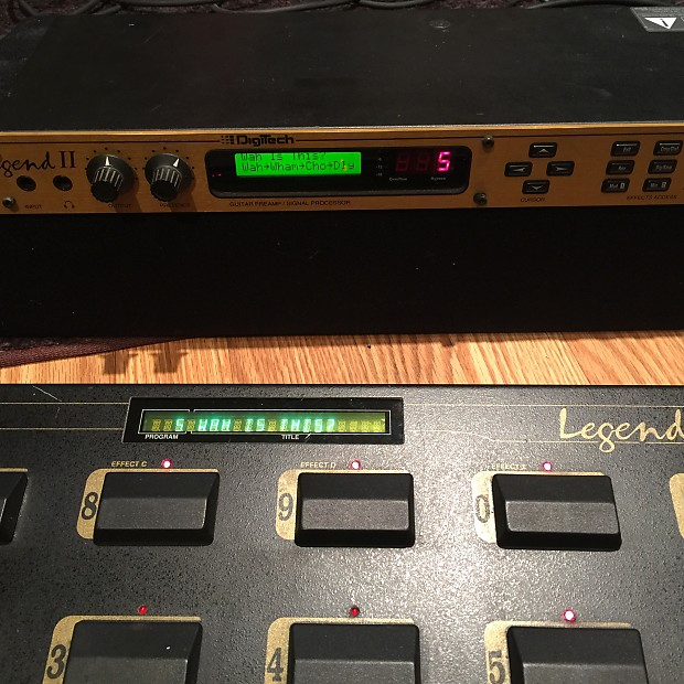 Digitech legend ii sound test youtube.