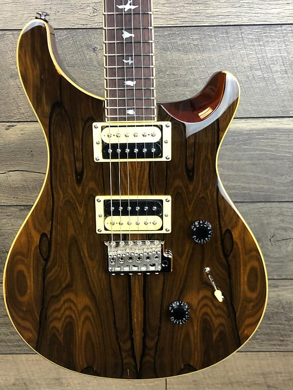 in stock paul reed smith se custom 24 ziricote new for 2019 reverb. Black Bedroom Furniture Sets. Home Design Ideas