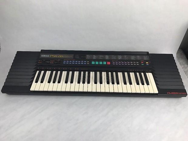 Yamaha Psr 28 49 Key Keyboard Music Work Station W Stand Giassi Case Vgc