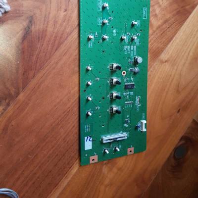 Korg M50 left side switch board