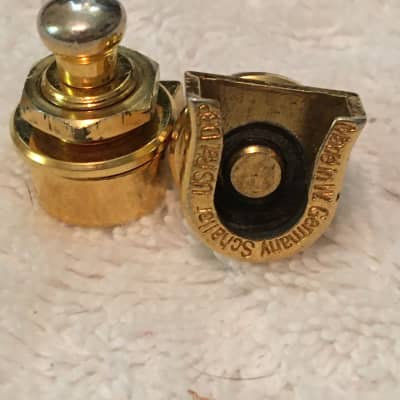 Schaller Vintage Gold Strap Locks