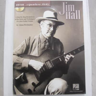 Jim Hall CD Guitar Signature Licks Sheet Music Song Book Songbook Guitar Tab Tablature