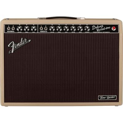 Fender Tone Master Deluxe Reverb 100w 1x12 Guitar Amp Combo Amplifier, Blonde