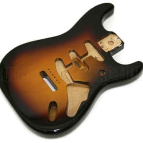 099-8003-700 Genuine Fender Alder Sunburst Stratocaster Body w/ Vintage Bridge