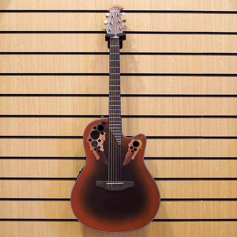 Ovation Celebrity Elite CE44-RRB (Reversed Red Burst) image