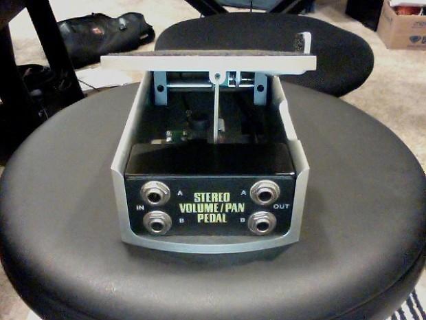 ernie ball stereo volume pan pedal 500k reverb. Black Bedroom Furniture Sets. Home Design Ideas