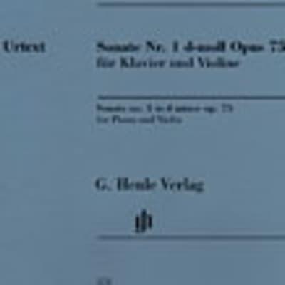 Sonata No. 1 in D minor, Op. 75