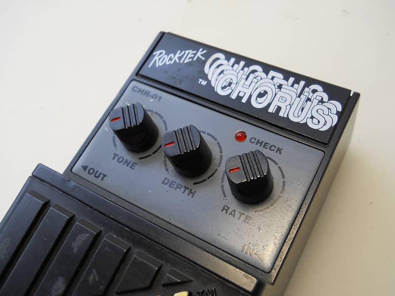 rocktek chr 01 chorus guitar effect pedal vintage 80s works reverb. Black Bedroom Furniture Sets. Home Design Ideas