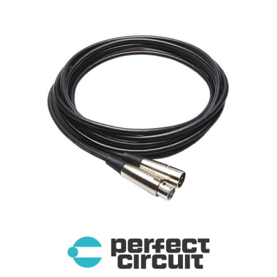 Hosa MCL-105 XLR Microphone Cable - 5FT