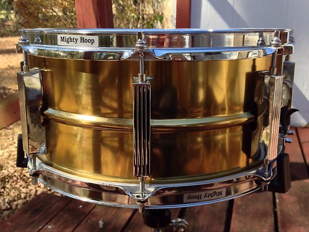 tama power metal 90 39 s brass snare drum 14x6 5 reverb. Black Bedroom Furniture Sets. Home Design Ideas