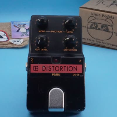 Pearl DS-06 Distortion | Rare JRC4558DD Chip | Early 1980s (Made in Japan) | Fast Shipping! for sale