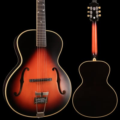 Epiphone ETZ2VSNH1 Zenith Classic Masterbilt Century Collection, Vint. Sun. SN17042302506 5lbs 7.1oz for sale