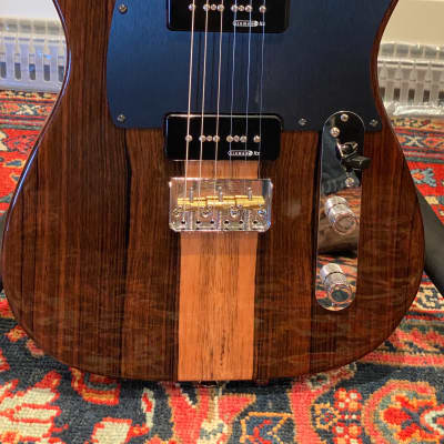 Fender Exotic Series Malaysian Blackwood with Kinman Pickups for sale