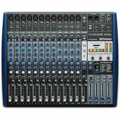 PreSonus StudioLive AR16c 18-Input Mixer / Digital Recorder / Audio Interface