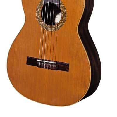Spanish Classical Guitar VALDEZ MODEL 1/63 SENORITA (lady's guitar) - solid cedar top for sale