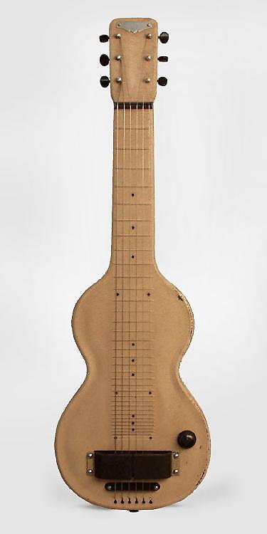 Rickenbacker  Model 59 Lap Steel Electric with Matching Amplifier Guitar (1938), ser. #E 1087, NO CASE case.