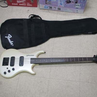 1986 Westone Pantera X750  Bass  Pearl White In Gig Bag for sale