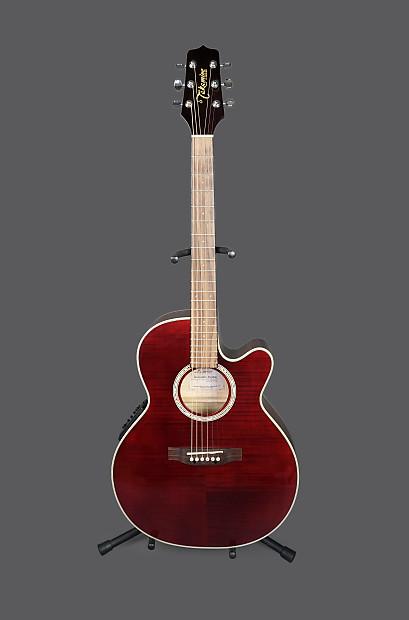 Takamine EG540C Cutaway Acoustic Electric Guitar Red  89b9830d90