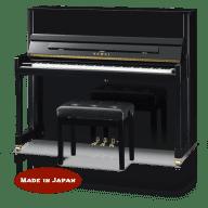 Kawai K300JEP 122 cm upright piano Ebony polish (K-300JEP)