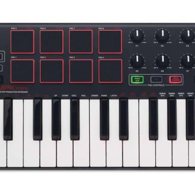 Akai MPK Mini MKII 2 Compact Keyboard and Pad USB MIDI Controller