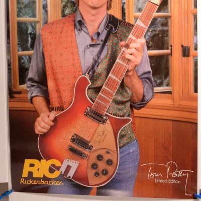 Rickenbacker Tom Petty Ltd Edition #660-12 Poster 1991 for sale