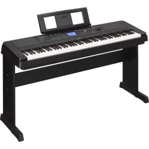 Yamaha DGX-660 88-Key Arranger Piano with Stand