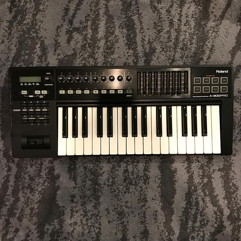 Roland A-300PRO MIDI Keyboard Controller Sound Driver Windows