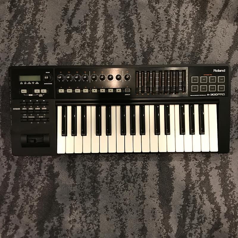 Roland A-300PRO MIDI Keyboard Controller Sound Update