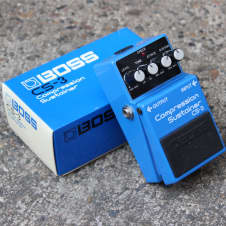 1980's Boss CS-3 Compression Sustainer Vintage Effects Pedal