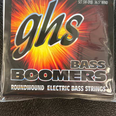 GHS 5-5M-DYB 5-string Bass Strings with Low-B 45-130